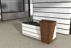 Modern Office Reception Desk Capital Modern Reception Desk On Sale Now For Half Price