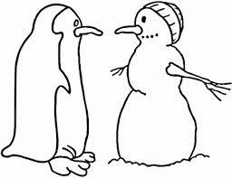 simple snowman coloring pages snowman colouring pages kids