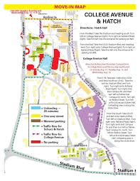 Mizzou Map Bingham College Avenue U0026 Hatch Parking And Unloading