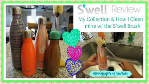 s u0027well bottle collection u0026 how i clean mine w the s u0027well brush