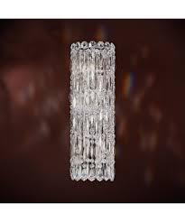 Swarovski Wall Sconces Schonbek Rs8331 Sarella 4 Inch Wide Wall Sconce Capitol Lighting