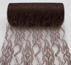 lace ribbon by the yard sparkle lace 6 burlapfabric burlap for wedding and