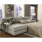 Small Sectional Sleeper Sofa by Cindy Crawford Home Madison Place Slate 2 Pc Sleeper Sectional