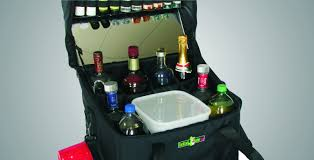 travel bar images Cocktail gator travel bar with ice bin and cup dispenser