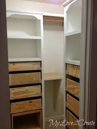 How To Build Shelves In Closet by Remodelaholic Amazing Diy Master Closet Renovation