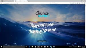 churchsuite theme narrated demo calvary site