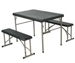 Folding Table And Bench Set New 80188 Lifetime Camp Folding Sport Table U0026 Bench Set