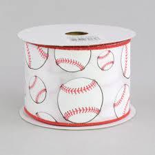 baseball ribbon 2 5 baseball ribbon 10 yards rg1747 craftoutlet