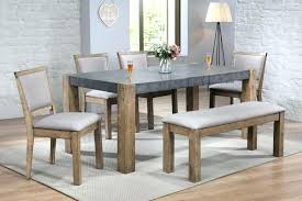 gray dining table with bench exotic gray kitchen table dining table for 4 acme ii dark gray