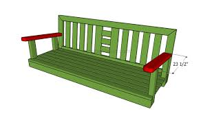 porch building plans how to build a porch swing howtospecialist how to build