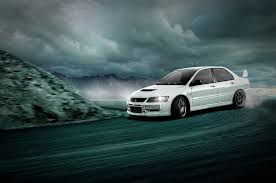 mitsubishi evo white evo ix wallpapers group 66