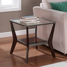 Square Side Tables Living Room Square Side Tables Living Room Pics On Cool Metal Glass End Table