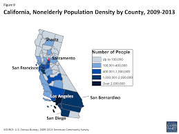 Ethnic Map Of Los Angeles by The California Health Care Landscape The Henry J Kaiser Family