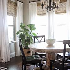 Dining Room Window Ideas 25 Best Farmhouse Window Treatments Ideas On Pinterest Window