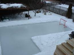 Backyard Rink Liner by David Hale U0027s Backyard Rink Howard U0027s Corner Of The Web