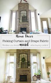 How To Pick Drapes Two Story Curtain Considerations