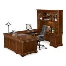 Office Desk U Shape U Shaped Desk Shop Wrap Around Desk With Desk Hutch Nbf