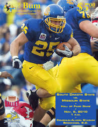 south dakota state football program 11 6 2010 by south dakota
