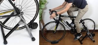 japan trend shop thanko indoor bike training machine