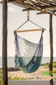 extra large mexican hammock chair in oceanica mayan legacy