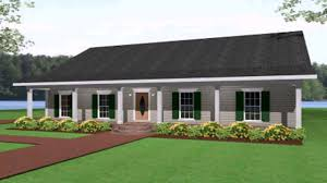 ranch style house plans with veranda side entry garage vintage