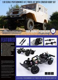 jeep rock crawler rc rc4wd gelande ii truck kit cruiser fj40 jeep wrangler z k0051 1 10