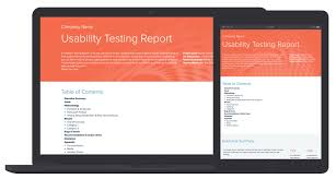 ux report template usability testing report template by xtensio it s free