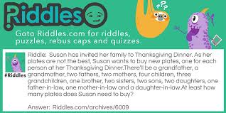 thanksgiving dinner riddles