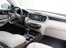 Kia Sorento 2015 Interior Redesigned 2016 Kia Sorento Suv Steps It Up Consumer Reports