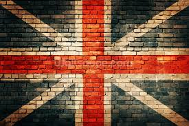 union jack on old brick wallpaper wall mural wallsauce new zealand
