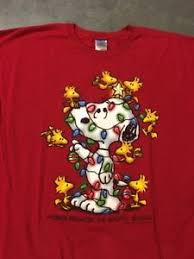 snoopy christmas t shirts peanuts snoopy christmas t shirt friends brighten 2xl