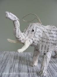 plastic animals to paper covered ornaments finding inspiration