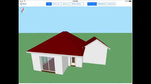 Hip Roof Design Software by Architouch 3d For Ipad Tuto Hipped Roof And Joined Roof Youtube