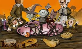 tnbc thanksgiving town by miki on deviantart