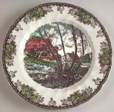 johnson brothers friendly the 1883 plate