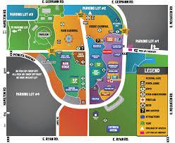 Festival Map 2017 Map Ostrich Festival