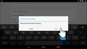 how to clear history on android how to delete search history