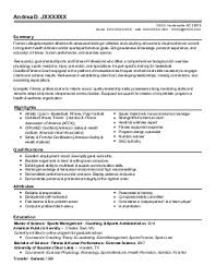 Sample Fitness Instructor Resume Fitness Instructor Resume Resume Ideas