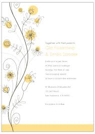 Free Online Wedding Invitation Cards Wildflower Wedding Invitation