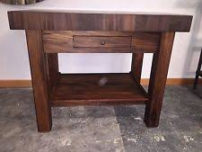 kitchen island butcher block table butcher block table ebay