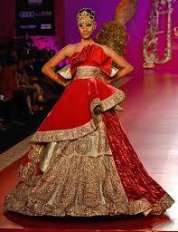 ritu beri at india bridal fashion week 2013 sketch customs clothing