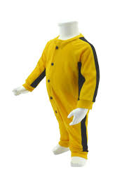bruce yellow jumpsuit baby bruce jumpsuit yellow black baby bruce jumpsuit