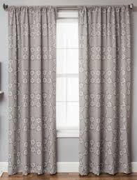 Linen Curtains With Grommets Logan Linen Style Moroccan Geometric Tile Curtains