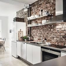 briques cuisine quel intérieur pour ma cuisine industrielle