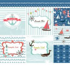 Nautical Themed Christmas Cards - 94 best nautical party favors images on pinterest nautical party