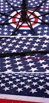 Flag Folding Fashion Automatic American Flag Folding Umbrella Stars Stripes