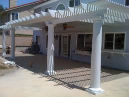Lattice Patio Cover Design by Southern California Patios Combination Patio Covers