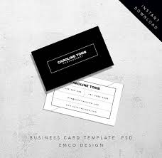 blank business card template photoshop 28 images custom card