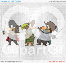 clipart cartoon group musketeers royalty free