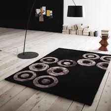 tappeti moderni grandi con fantasia a cerchi febe